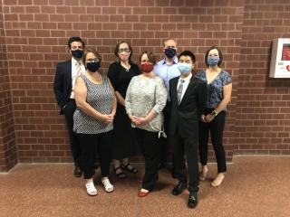 School Committee Masked-Up!