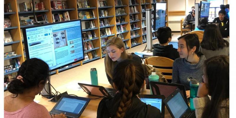 AP Euro Students Examine Transatlantic Slave Trade Maps